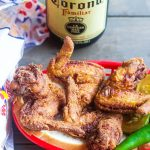 Buttermilk Fried Chicken Wings in a basket