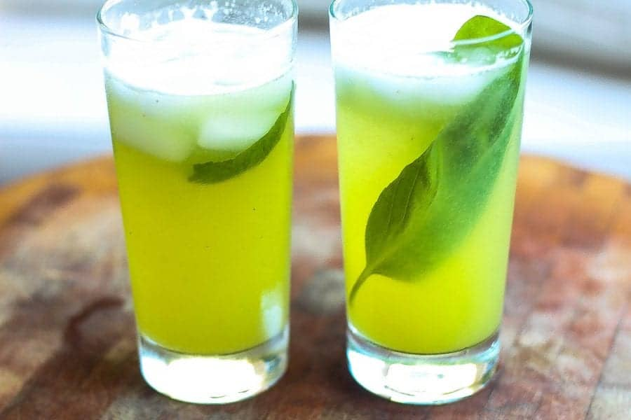 Melon Cucumber Soda