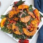 grilled butternut squash salad