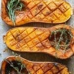 vegan smoked butternut squash