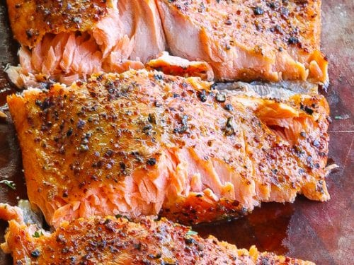 Easy Smoked Trout W Fennel And Mustard Seed Rub Food Fidelity