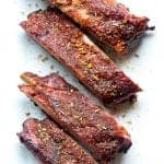 """Buy Africa"" Smoked Pork Ribs with African Spice Rub"