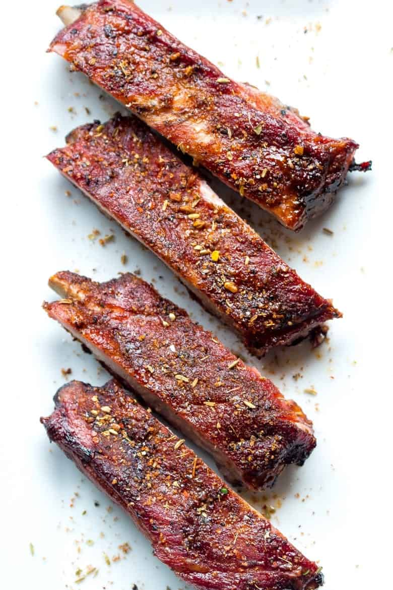 Tender Smoked Pork Ribs With African Spice Rub Mix