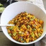 """Charcoal Baby"" Quick and Flavorful Southwestern Corn Saute"